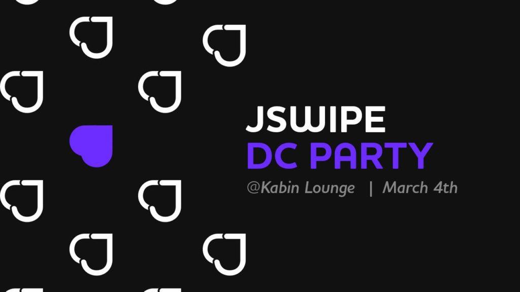 JSwipe Winter Series | DC Party 2018